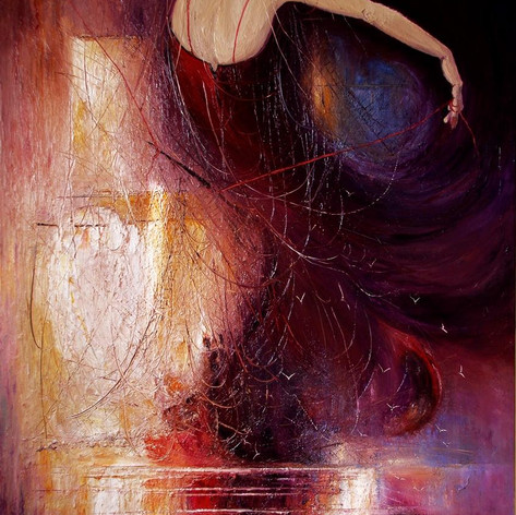 """Furia"", de la pintora polaca Justyna Kopania"