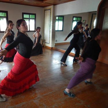 Clases de Flamenco avanzado