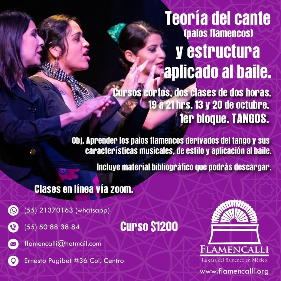 Clases de cante flamenco