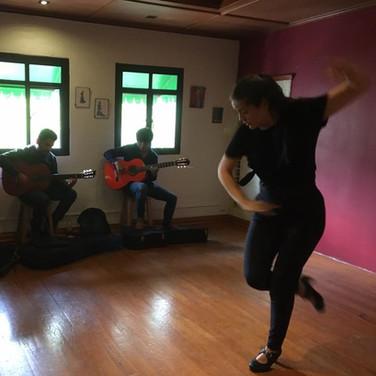 Clases de baile flamenco