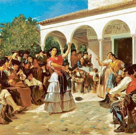Alfred Domedeq Un baile de gitanos