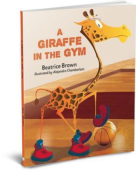 a giraffe in the gym 3d .jpg