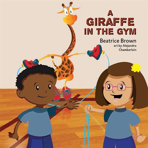 A Giraffe in the Gym