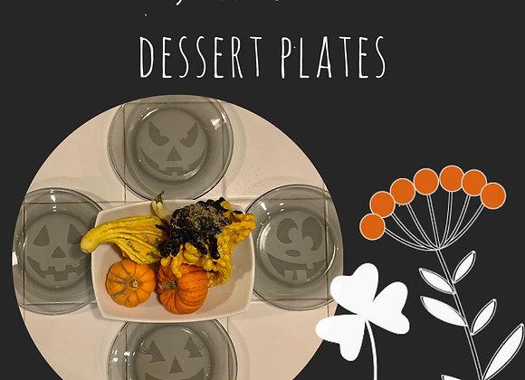 Dessert Plates for Halloween