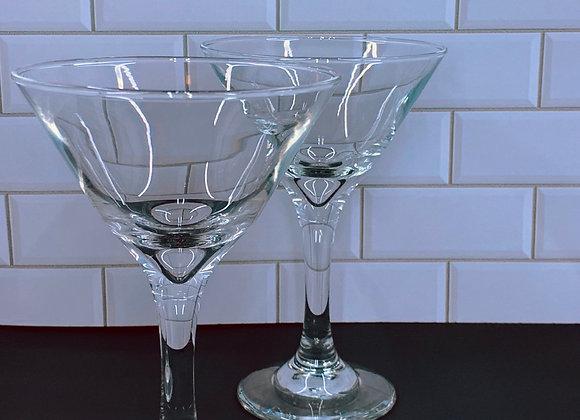 Custom Martini Glasses 🍸