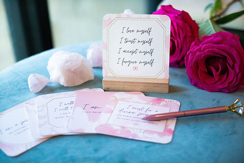 💖Empowering Affirmation Cards for Self Love💖