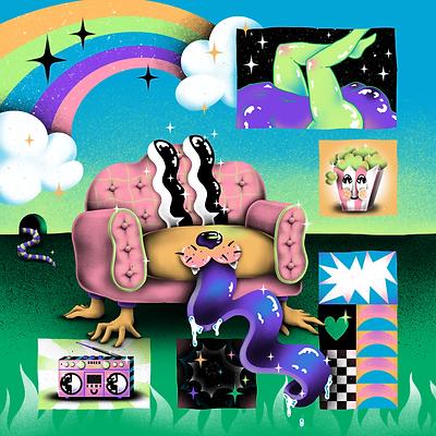 Le Sofa du mois par Lila Tretout