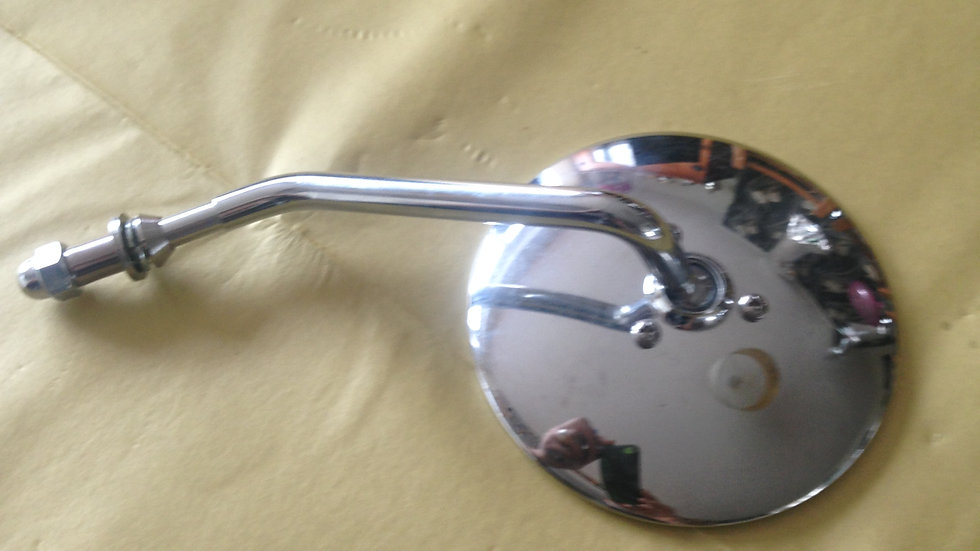 CHROME CUSTOM MIRROR LEFT HAND