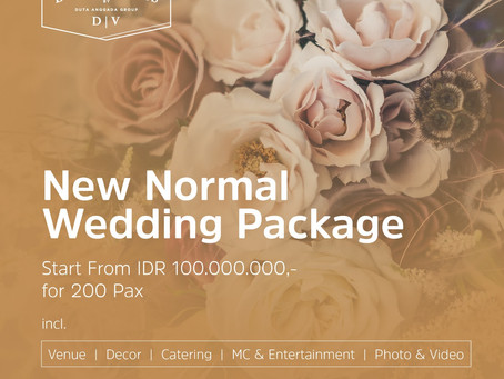 Wedding Package New Normal