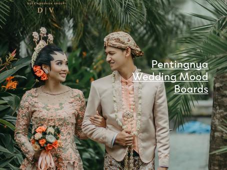 Pentingnya Wedding Mood Boards