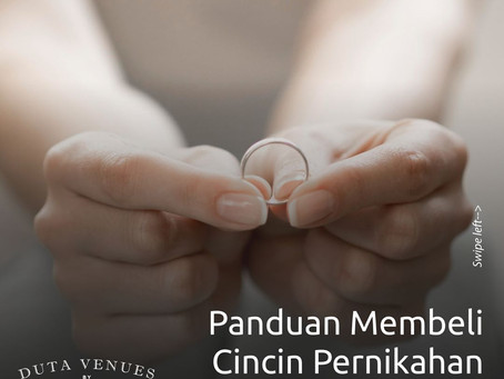 Panduan Membeli Cincin Pernikahan Secara Online
