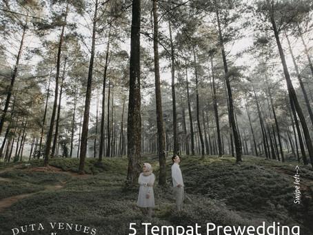 5 Tempat Pre-wedding Anti Mainstream