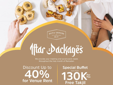 Iftar Package at Duta Venues