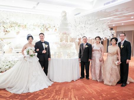 Wedding Mr. Daniel & Mrs. Survika at Citywalk Gajah Mada Function Hall
