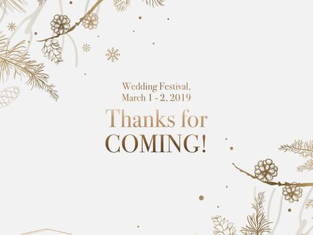 Highlight Wedding Festival at Citywalk Sudirman March 1 - 2, 2019