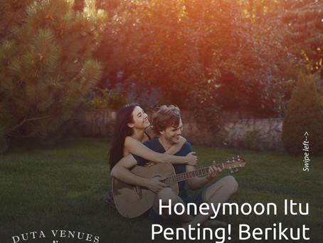 Honeymoon Itu Penting! Berikut Alasannya!