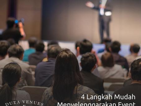 4 Langkah Mudah Menyelenggarakan Event dengan Duta Venues!