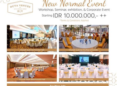 New Normal Event With Duta Venues