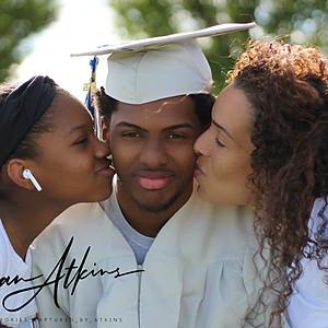 Dante Senior graduation