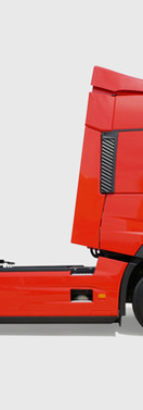 Camión rojo
