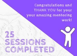 25 Session Milestone!
