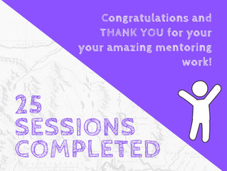 25 Session Milestone!