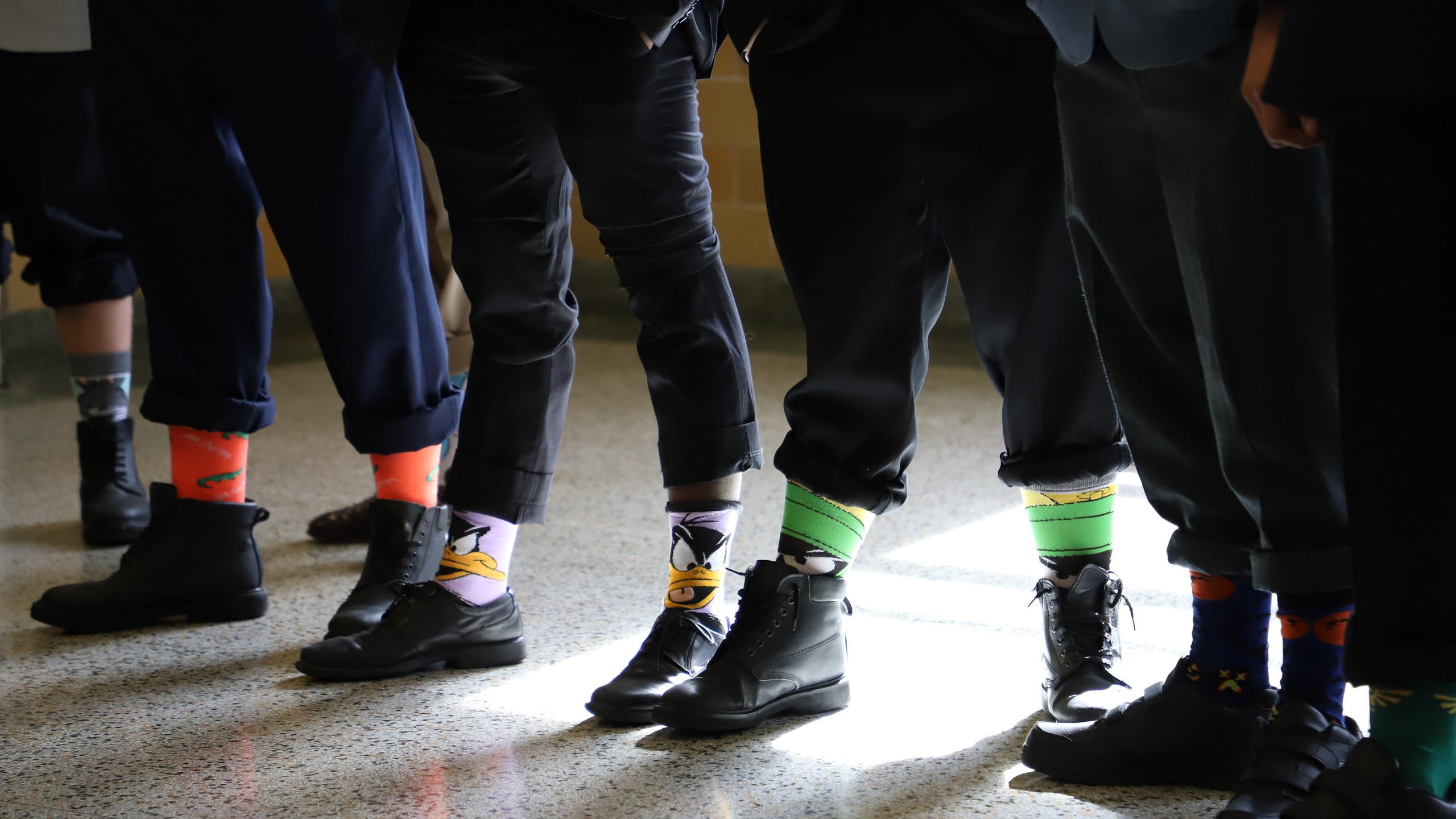 Fancy Socks Displayed
