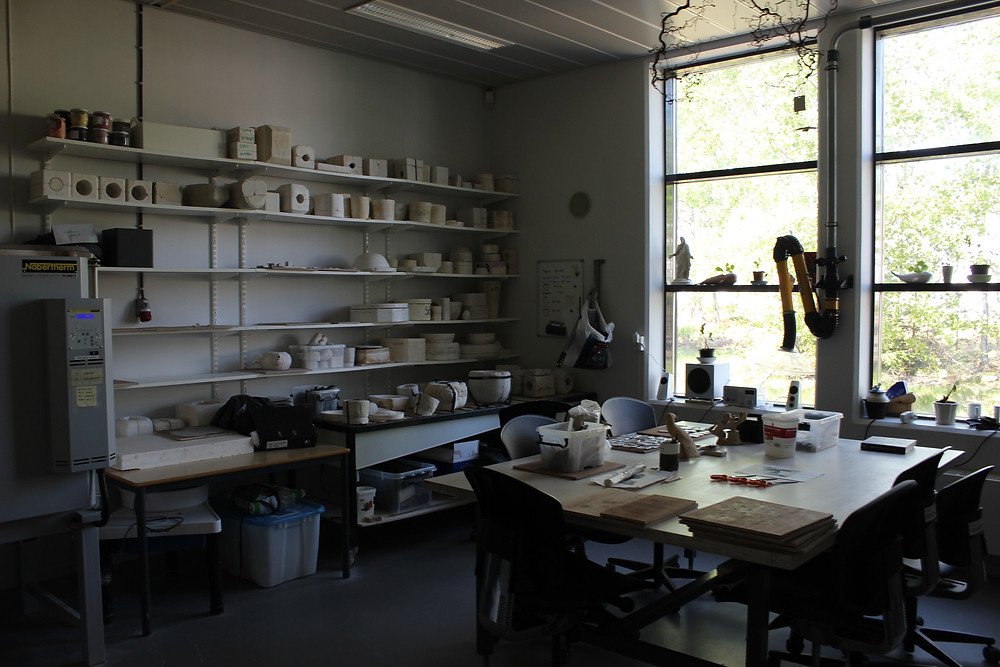 The Ceramics workshop at Halden.