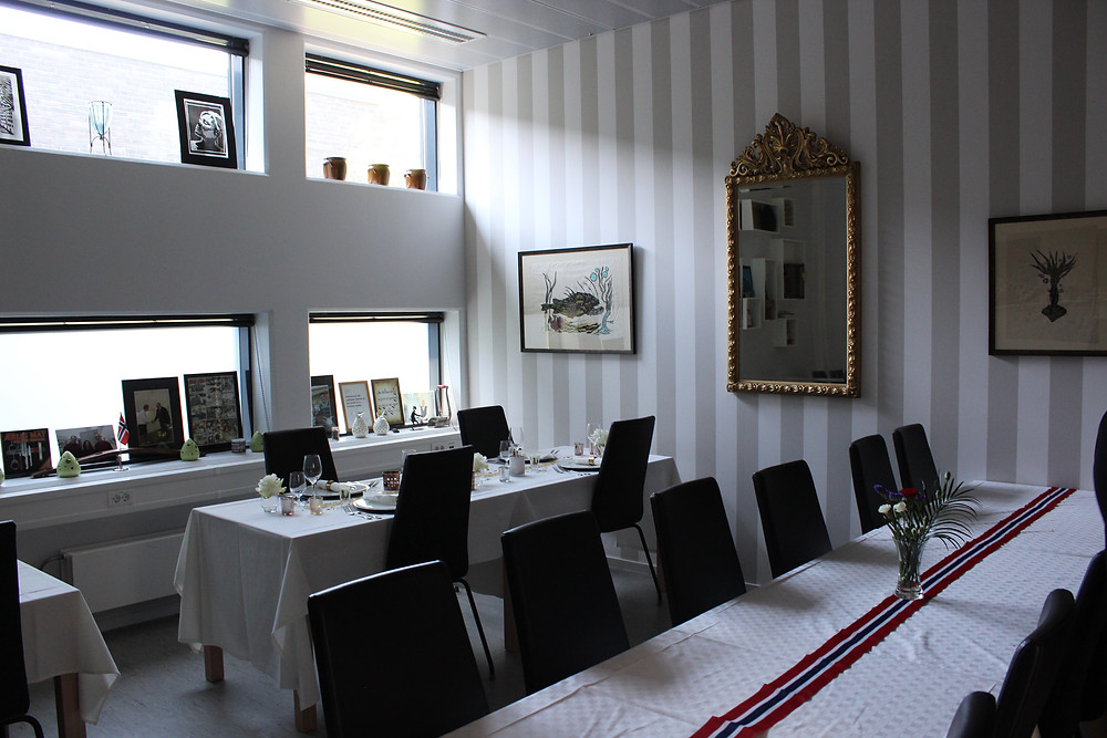 A restaurant at Halden Prison where inmates can work.