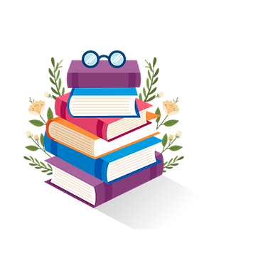 —Pngtree—books book stack of cartoon_3920298.png