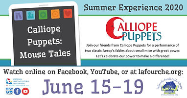 SE20 - Calliope Puppets Mouse Tales Even