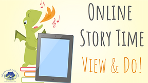 ONLINE STORY TIME - View & Do Title Page