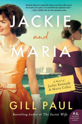 Brooke's Pick:  Jackie and Maria by Gill Paul