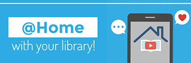 @Home with Your Library - Website Header