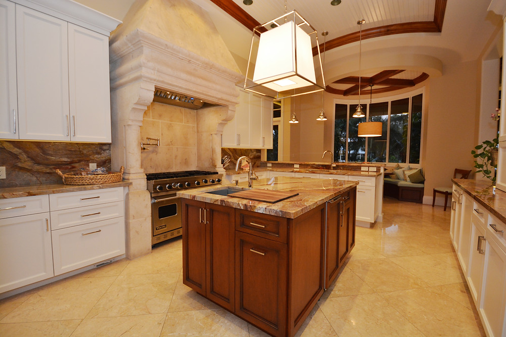 Kitchen Renovation in Rio Vista by Fort Lauderdale Architect and General Contractor