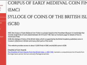 The Corpus of Early Medieval Coin Finds