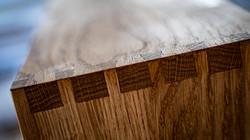 Holz Verzahnung