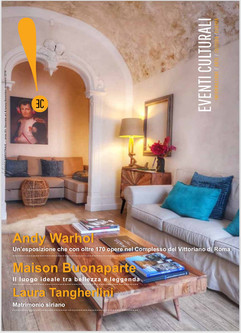 Cover magazine Art & Luxury Rome