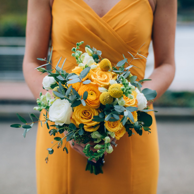 Kelly bridesmaid bouquet