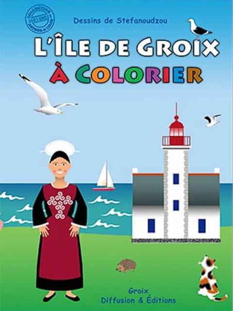 L'île de Groix à colorier 1