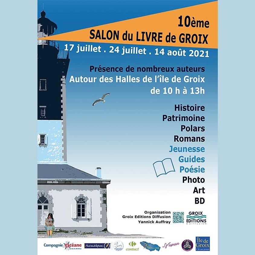 Salon du livre de Groix 2021  2ème session