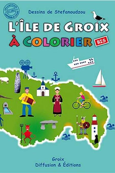 L'île de Groix à colorier 2