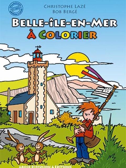 Belle-île en mer à colorier 1