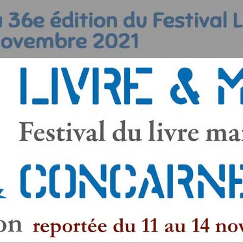 Festival Livre et mer de Concarneau Report à 2021