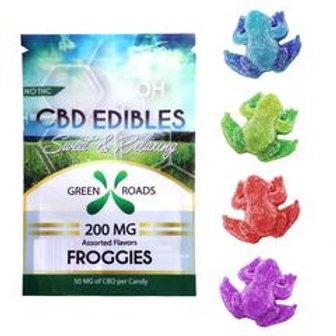 Froggies by Green Roads 100 & 200mg