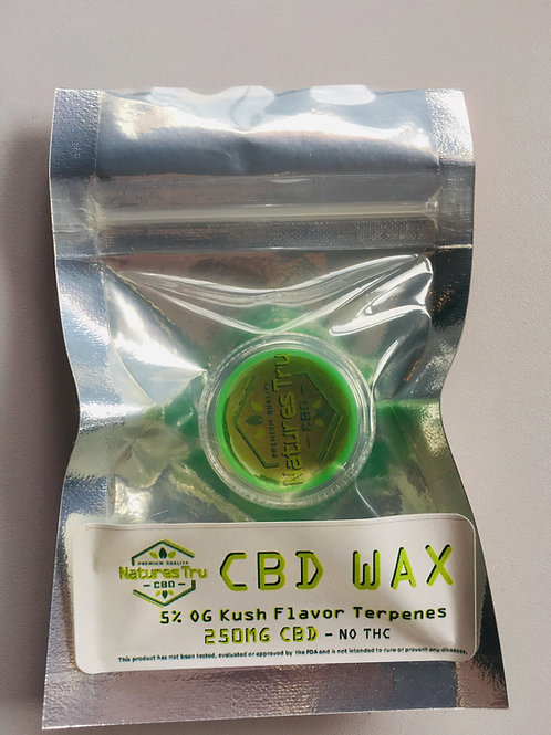 CBD Wax | 250mg Plus Terpenes
