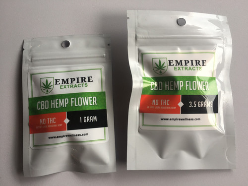 Pure CBD Hemp Flower | THC-free