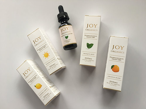 Joy Organics | Full Spectrum | 0% THC | Sublingual Tincture