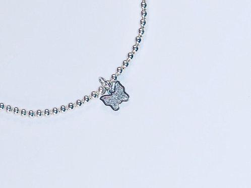 Silver Monarch Bracelet