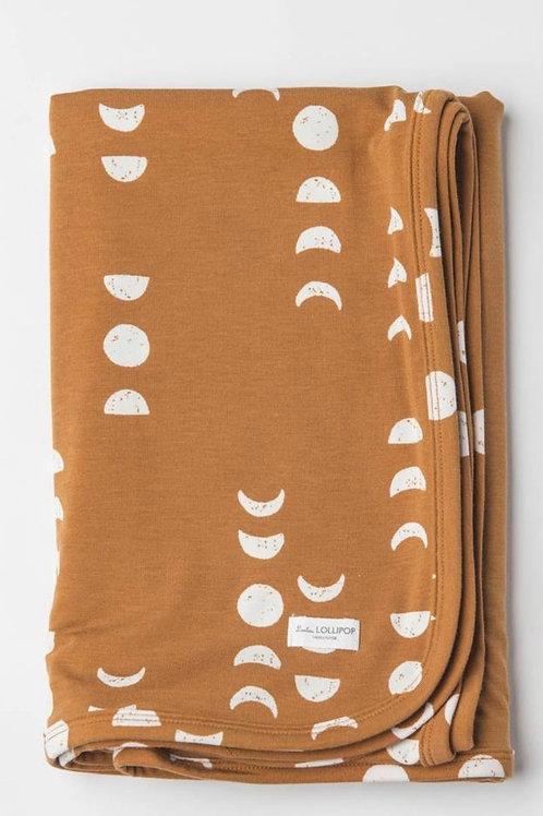 TENCEL Stretch Knot Blanket- Moon